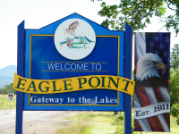 Welcome to Eagle Point Sign